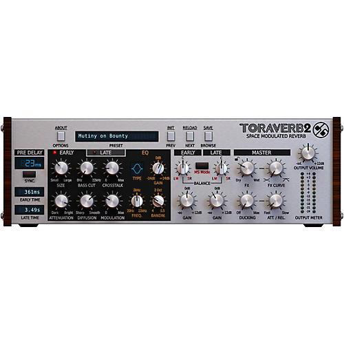D16 Group Toraverb 2 Space Modulated Reverb (VST/AU) Software Download