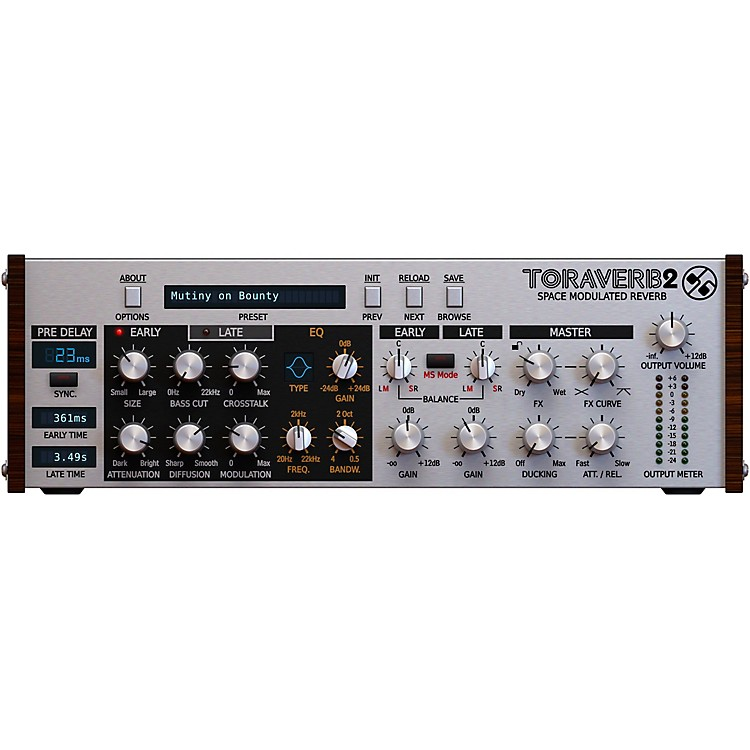 D16 Group Toraverb Space Modulated Reverb (VST/AU)