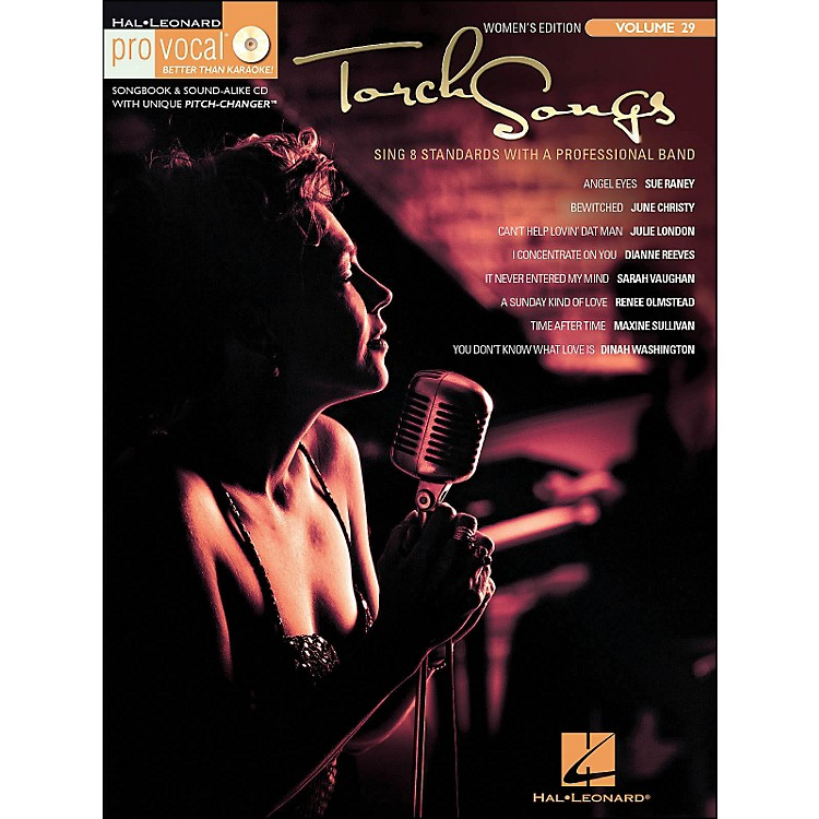 Hal Leonard Torch Songs Volume 29 Book/CD Women's Edition Pro Vocal Series