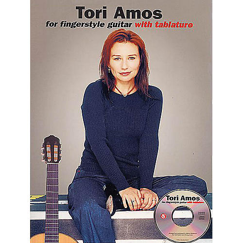 Music Sales Tori Amos for Fingerstyle Guitar Music Sales America Series Softcover with CD Performed by Tori Amos-thumbnail