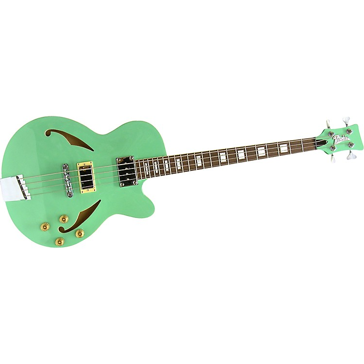 Italia Torino Bass Guitar Solid Green