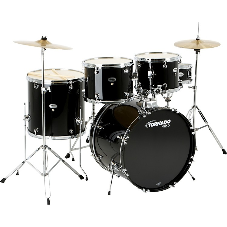 MapexTornado 5-Piece DrumsetBlack