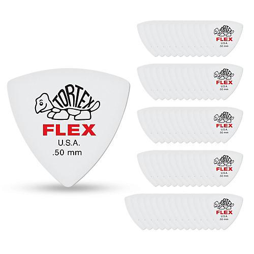 Dunlop Tortex Flex Triangle Guitar Picks-thumbnail