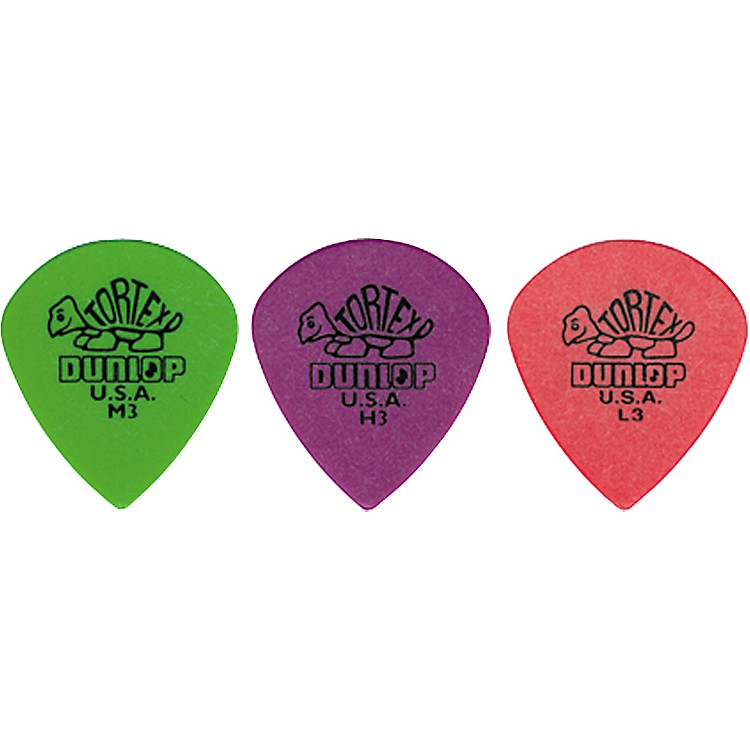 Dunlop Tortex Jazz Guitar Pick Medium 3 Dozen