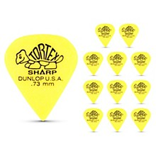 Dunlop Tortex Sharp Guitar Picks 1 Dozen .73 mm