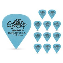 Dunlop Tortex Sharp Guitar Picks 1 Dozen 1.0 mm