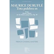 Durand Tota pulchra es (from Quatre Motets sur des thèmes grégoriens) SSA A Cappella Composed by Maurice Duruflé