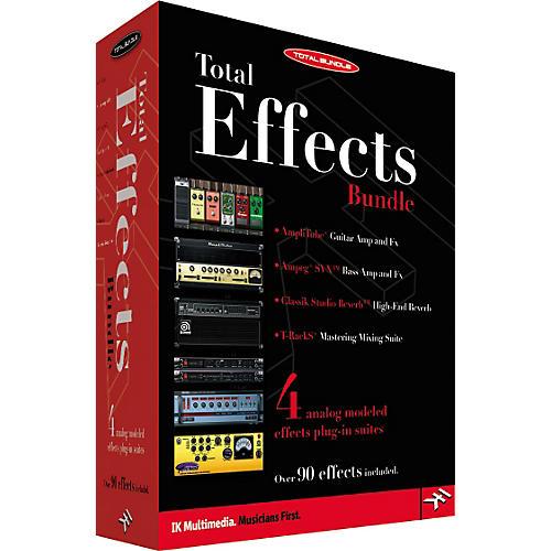 IK Multimedia Total Effects Bundle Education Edition