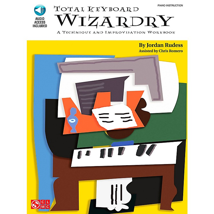 Cherry Lane Total Keyboard Wizardry - Technique & Improvisation Workbook Book/CD