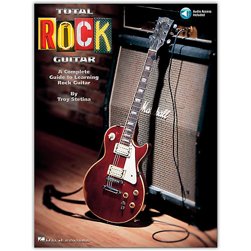 Hal Leonard Total Rock Guitar Book/CD