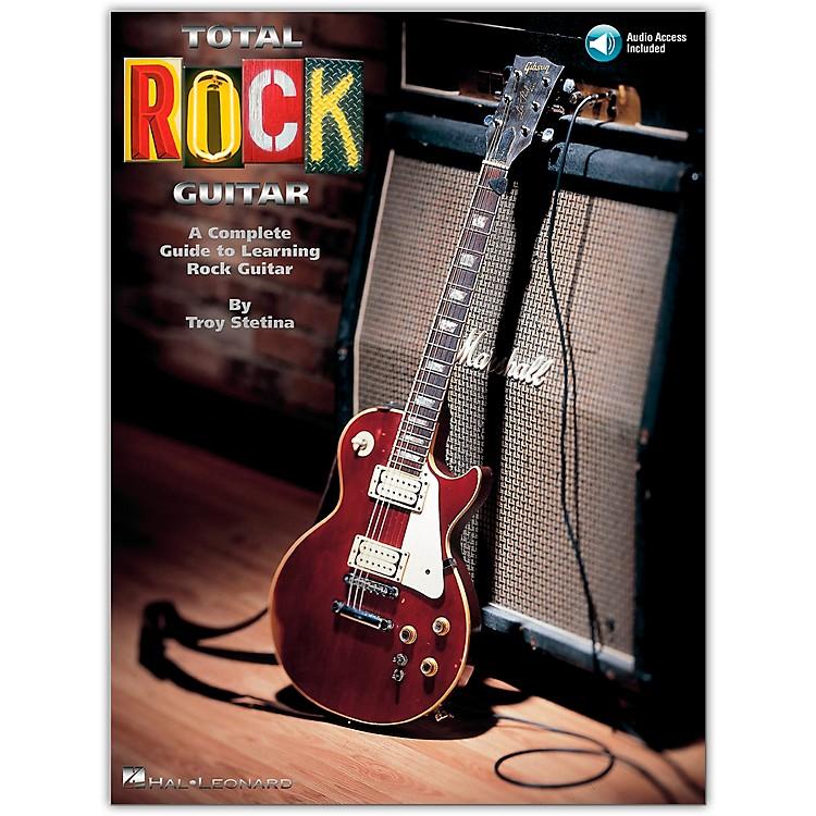Hal LeonardTotal Rock Guitar Book/CD