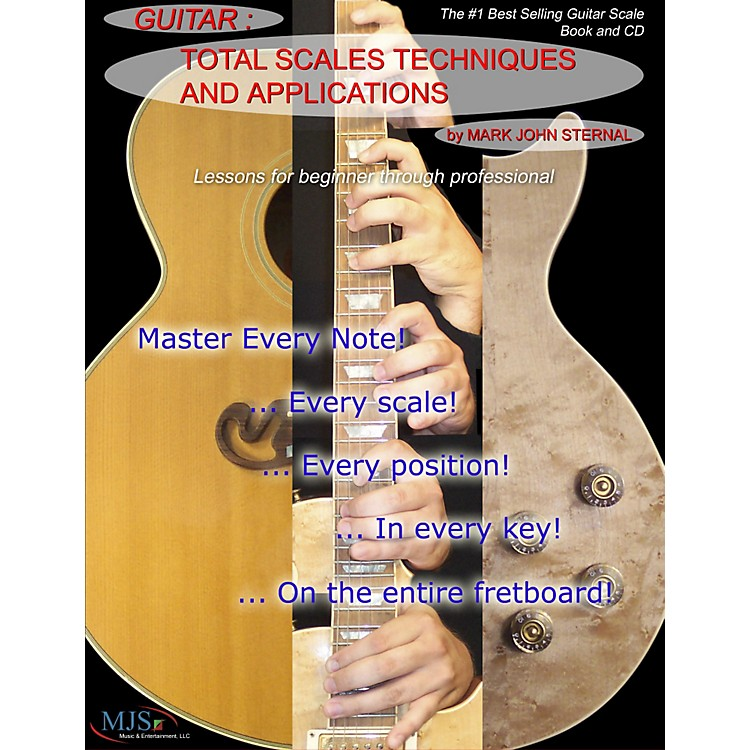 MJS Music PublicationsTotal Scales Techniques and Applications - Guitar (Book/CD)