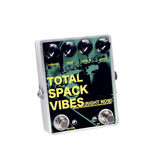 Dwarfcraft Total Spack Vibes Overdrive Guitar Effects Pedal
