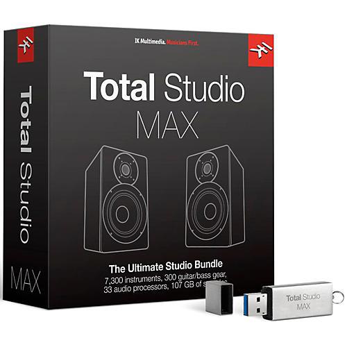 IK Multimedia Total Studio MAX Upgrade-thumbnail