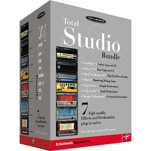 IK Multimedia Total Studio Software Bundle