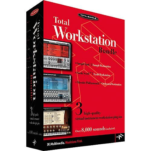 IK Multimedia Total Workstations Software Bundle