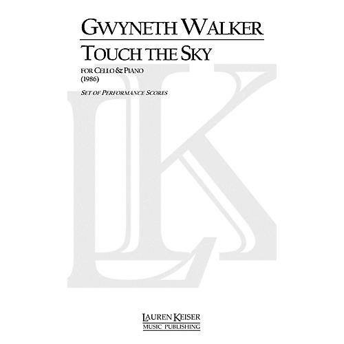 Lauren Keiser Music Publishing Touch the Sky (Cello with Piano) LKM Music Series Composed by Gwyneth Walker-thumbnail