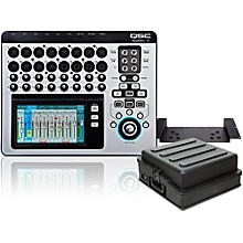 QSC TouchMix-16 Compact Digital Mixer with Rackmount Kit and Case