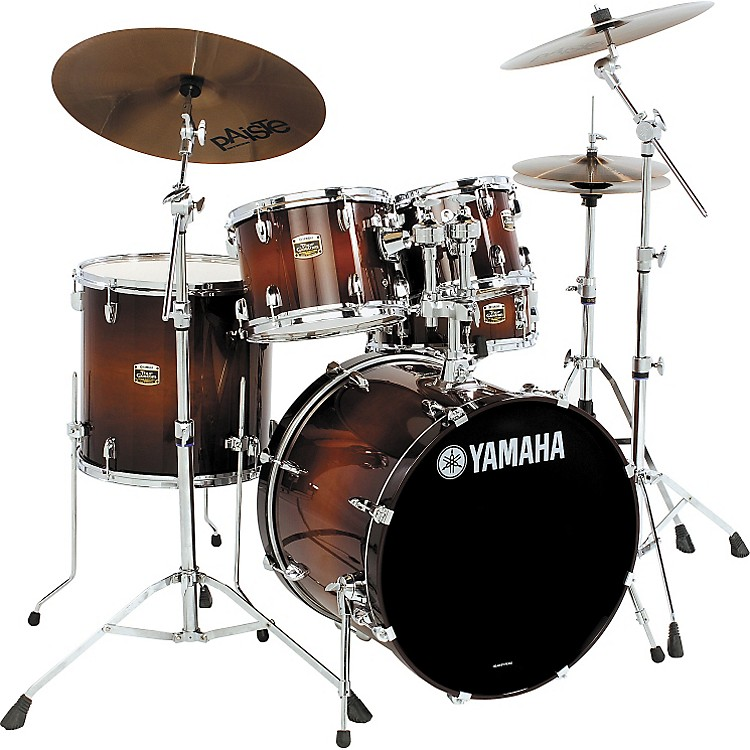 Yamaha Tour Custom 5 Piece Fusion Floor Shell Pack