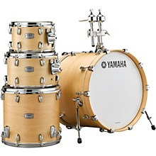 Yamaha Tour Custom Maple 4-Piece Shell Pack with 20 in. Bass Drum Butterscotch Satin