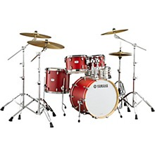 Yamaha Tour Custom Maple 4-Piece Shell Pack with 20 in. Bass Drum Candy Apple Satin