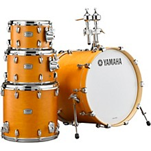 Yamaha Tour Custom Maple 4-Piece Shell Pack with 20 in. Bass Drum Caramel Satin