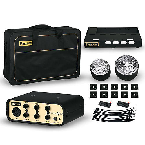 Friedman Tour Pro 1525 Gold Pack 15 x 25 in. Pedalboard with Buffer Bay-thumbnail