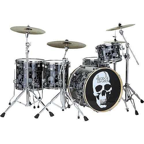 Taye Drums TourPro Graphix Skulls Drum Kit