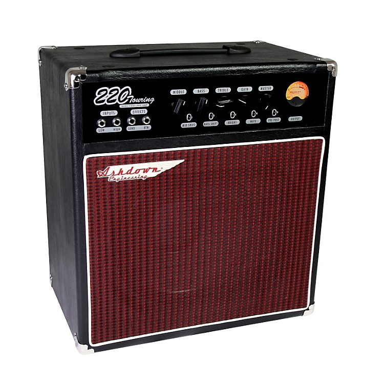 AshdownTouring 220W 1x12 Tube Pre Bass Combo Amp