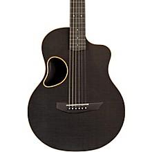 Touring Carbon Fiber Acoustic-Electric Guitar Orange Binding