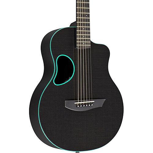 Kevin Michael Carbon Fiber Guitars Touring Carbon Fiber Acoustic-Electric Guitar