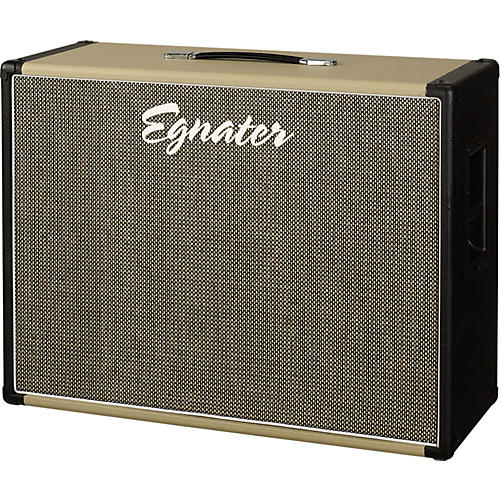 Egnater Tourmaster 212X 2x12 Guitar Extension Cabinet Black And Beige