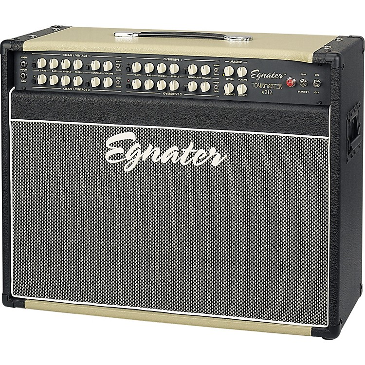 Egnater Tourmaster Series 4212 All-Tube Guitar Combo Amp Black/Beige