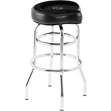 ROC-N-SOC Tower Saddle Seat Stool Black Tall