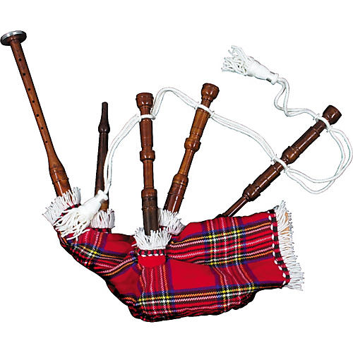 Pipers' Choice Toy Bagpipes with Chanter-thumbnail