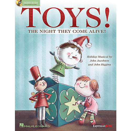 Hal Leonard Toys! (The Night They Come Alive!) CLASSRM KIT Composed by John Jacobson-thumbnail
