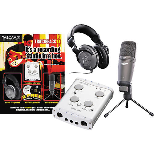 Tascam Track Pack LE Recording Package New Open Box