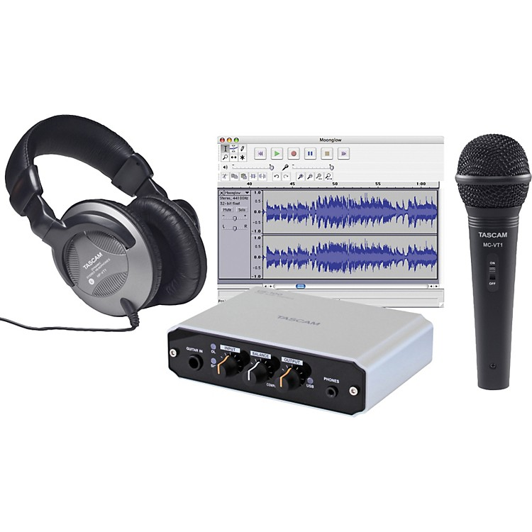 TASCAMTrackPack X1 Bundle with US-100
