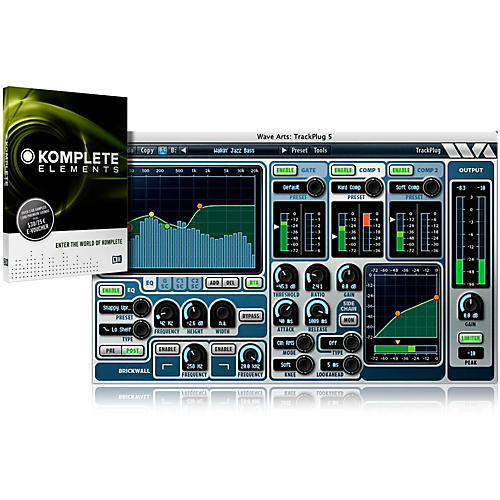 Wave Arts TrackPlug with Komplete Elements Bundle-thumbnail