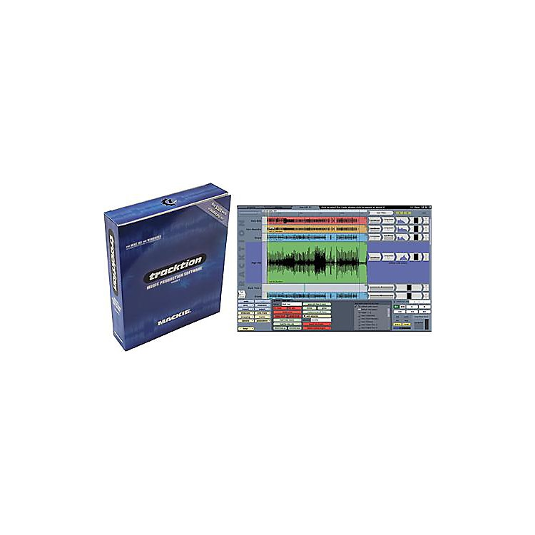 Mackie Tracktion 2 Recording/Sequencing Software with Plug-In Bundle