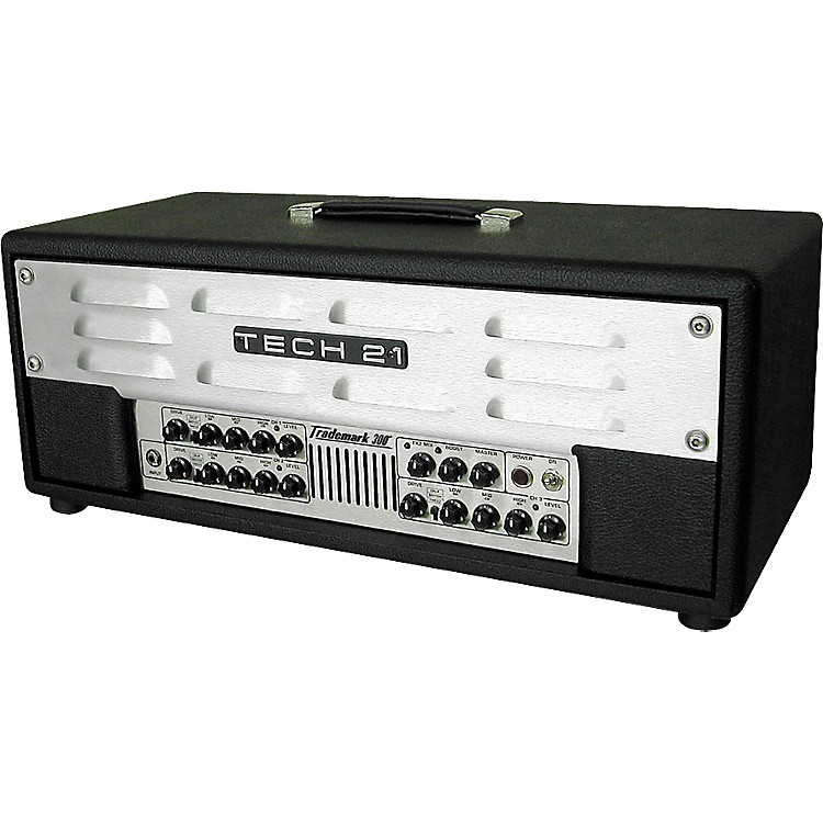 Tech 21Trademark 300 300W 3-Channel Guitar Amp Head with Footswitch