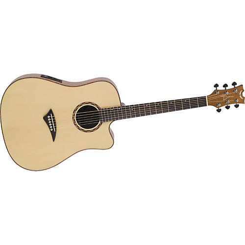 Dean Tradition Exotic Bird's-Eye Maple Acoustic-Electric Guitar-thumbnail