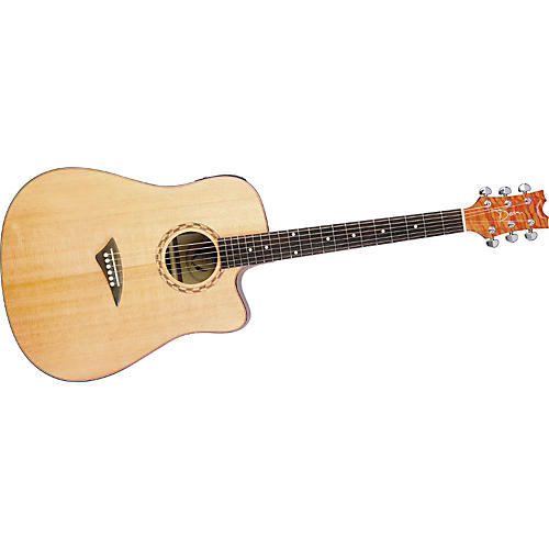 Dean Tradition Exotic Dreadnought Cutaway Lacewood Acoustic-Electric Guitar