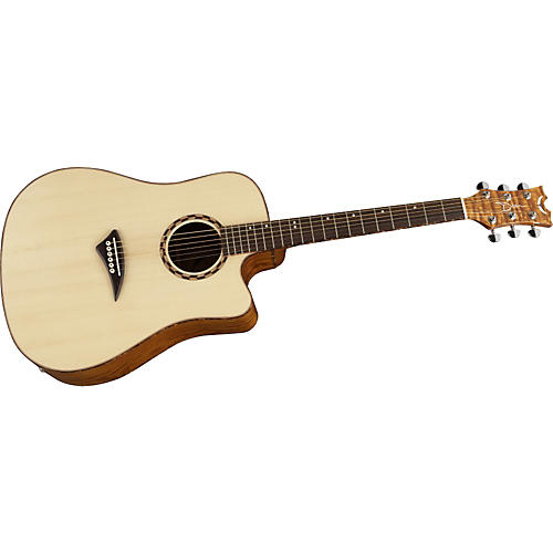 Dean Tradition Exotic Quilted Ash Acoustic-Electric Guitar