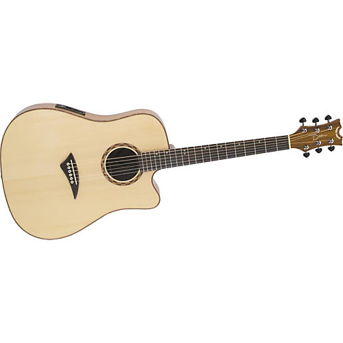 Dean Tradition Exotic Zebrawood Cutaway Acoustic-Electric Guitar-thumbnail