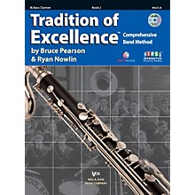KJOS Tradition Of Excellence Book 2 for Bass Clarinet