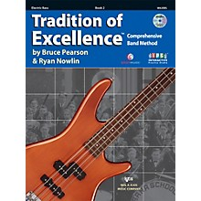 KJOS Tradition Of Excellence Book 2 for Electric Bass