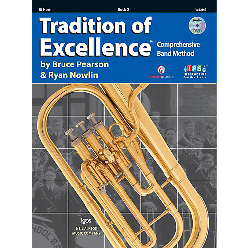 KJOS Tradition Of Excellence Book 2 for Horn E Flat