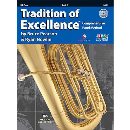 KJOS Tradition Of Excellence Book 2 for Tuba