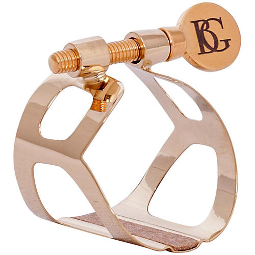 BG Tradition Series Ligature Eb Clarinet, Gold Plated